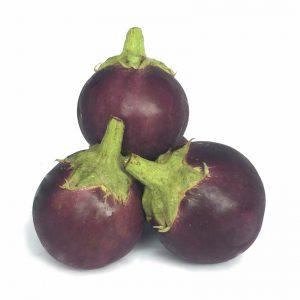 EGGPLANT ROUND - TERUNG BULAT (圆)茄子 / KG